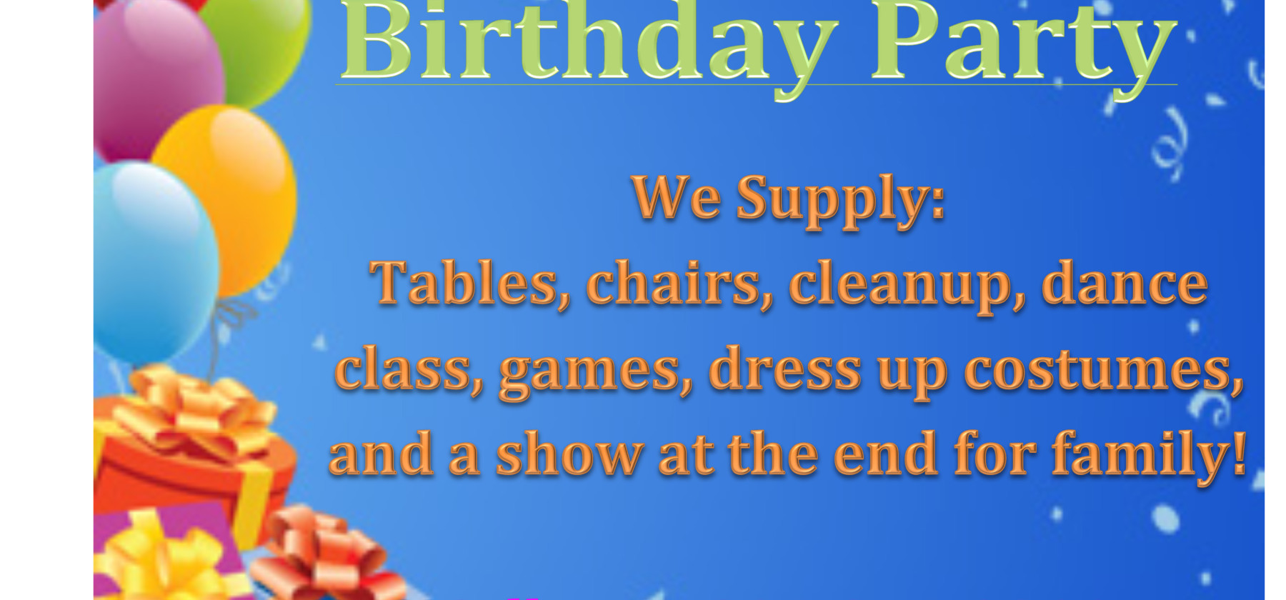 Microsoft Word - birthday party.docx